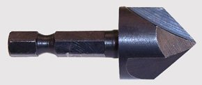 3 Flute Countersink with 1/4 inch Hex Shank