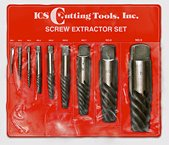 9 piece screw extractor set